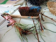 making, moving, weaving, sowing and growing. almost weekly. Disability Art, Mark Making, Plant Hanger, Weaving, Making Tools, Plants, How To Make, Loom Weaving, Plant