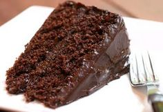 Simple Chocolate Cake - Recipes For Every Taste My Recipes, Sweet Recipes, Cake Recipes, Chocolate Recipes, Chocolate Cake, Brazillian Food, Food Tasting, How To Make Chocolate, Love Food
