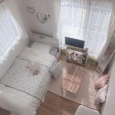 Room Design Bedroom, Small Room Bedroom, Room Ideas Bedroom, Bedroom Decor, Bedroom Designs, Small Bedroom Ideas For Teens, Korean Bedroom Ideas, Bedroom Hacks, Bedroom Modern