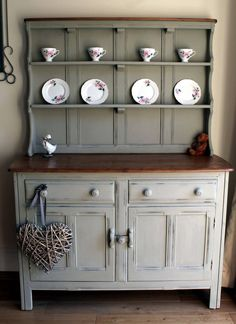 Painted in Autentico linen by Mariposas Painted Furniture