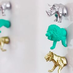 DIY Animal Magnets                                                                                                                                                                                 More