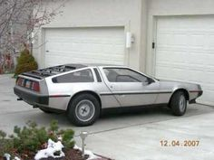 1981 Delorean DMC12 Back to the Future car