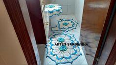 Conjunto de banheiro feito por mim!!!!
