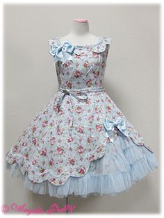 Angelic Pretty / Jumper Skirt / Romantics Scalloped JSK