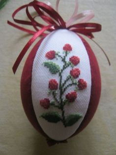 My easter egg with raspberry