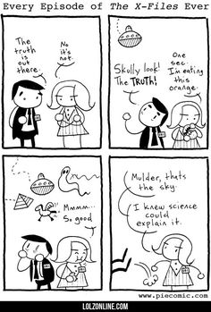 Every Episode Of X-files... #lol #haha #funny