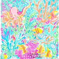 Check Out Lilly Designs Colorful Unique Prints Crafted In Our Pulitzer Print Studio