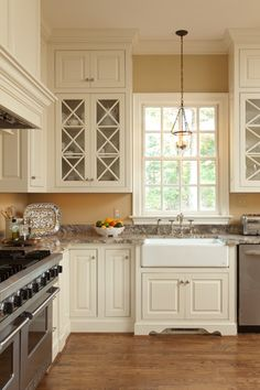 Bright custom kitchen