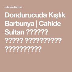 Dondurucuda Kışlık Barbunya  | Cahide Sultan بِسْمِ اللهِ الرَّحْمنِ الرَّحِيمِ