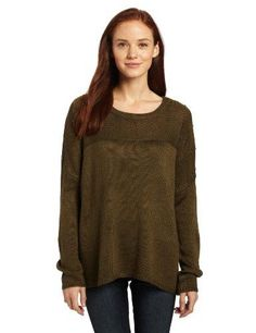 Olive sweater with studded yoke  #done