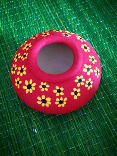 Kalash Decoration, Thali Decoration Ideas, Diy Diwali Decorations, Festival Decorations, Pottery Painting Designs, Pottery Designs, Paint Designs, Pottery Art, Diy Crafts Hacks