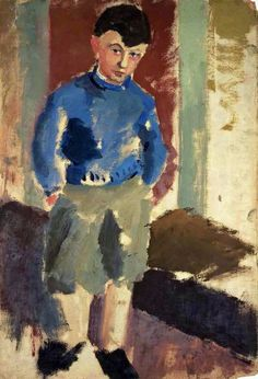 Mark Rothko: Portrait of a Young Boy (untitled), c. 1932