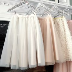 Kind of crushing on the Tulle Skirt trend lately, if you can't tell ;-) - - - Tulle skirts by Bliss Tulle