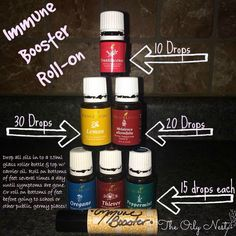 Young Living Essential Oils Immune Boosting Roll-on!