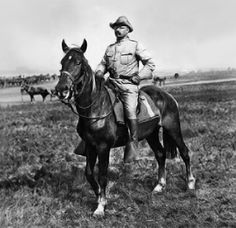 A chestnut gelding named Little Texas, his rider, future U.S. President Theodore Roosevelt,  will always stand tall in national memory as the horse who bravely led the charge of the First U.S. Volunteer Cavalry in one of the fiercest battles of the 1898 Spanish American War: the Battle of San Juan Hill.