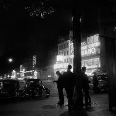 Roger Schall - Place Blanche, Paris, 1930.