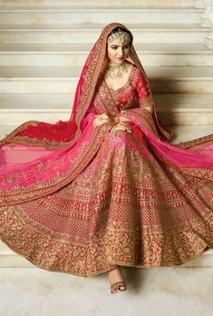 Buy Bridal Pink Lehenga, Silk Wedding Lehenga Choli - VJV Fashions Call/WhatsApp for Purchase Inqury : Designer Bridal Lehenga, Pink Bridal Lehenga, Pink Lehenga, Sabyasachi Lehenga Bridal, Lehanga Bridal, Pink Kurti, Indian Bridal Outfits, Indian Bridal Fashion, Indian Bridal Wear