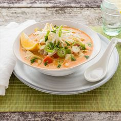 Fish and Vegetable Laksa