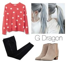 """""""G Dragon"""" by bad-blackjack ❤ liked on Polyvore featuring COSTUME NATIONAL, Equipment and Augusta"""