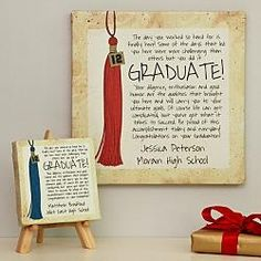 Personalized Ways To Say It Graduate Canvas  $19.99