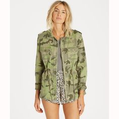 8db83f84eb6f2 Cant See Me Camo Jacket | Billabong US Jackets For Women, Clothes For Women,