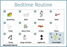printable child routine pictures | ve copied the chart below, and you can click here to download it.