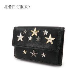 ◆ジミーチュウ NEMO LTR スタッズ 三つ折り財布 ミニ財布 143