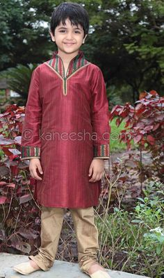 Maroon Art Silk Readymade Kurta Pajama Price: Usa Dollar $39, British UK Pound £23, Euro29, Canada CA$42 , Indian Rs2106.