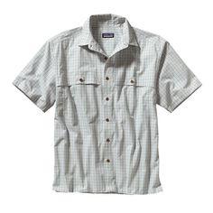 Patagonia Men's Island Hopper Shirt - Bahia: Polar Blue (BHPB-035)