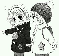 They are so Kawaii! Anime Chibi, Manga Anime, Chibi Boy, Manga Girl, Anime Love, Anime Girl Cute, Hot Anime Guys, Love So Life Manga, Fille Anime Cool