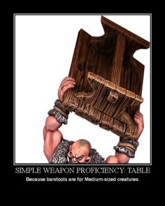 I am so allowing my players to take this as a proficiency
