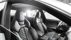 interior of the new Audi S7...