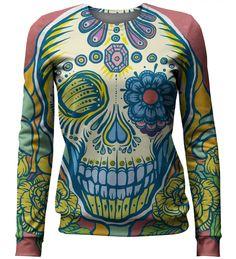 Cara de Muerte sweater, Mr. GUGU & Miss GO