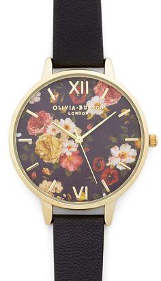 #Floral #watch