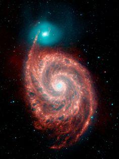 Whirlpool Galaxy & its smaller neighbor