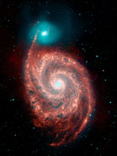 Whirlpool Galaxy & its smaller neighbor