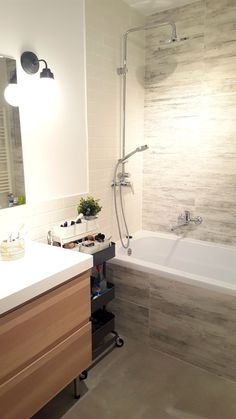 Renovare si amenajare baie Design Case, Clawfoot Bathtub, Diy And Crafts, Interior Design, Bathrooms, House, Interiors, Furniture, Home Decor