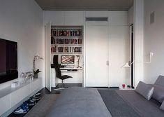 Ultra Modern Teenage Boy Room Design Ideas with Surprising Desk