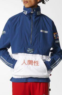 PHARRELL WILLIAMS HUMAN RACE WINDBREAKER (via adidas US)