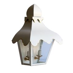 Coleen and Company - The Tole Tent Lantern Sconce , $1,200.00 (http://www.coleenandcompany.com/the-tole-tent-lantern-sconce/)