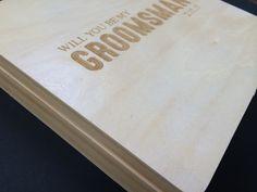 Groomsman Keepsake Box