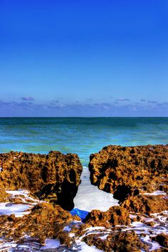 Blowing Rocks Preserve - Jupiter, FL. My dad lives here....How have I not heard of it?