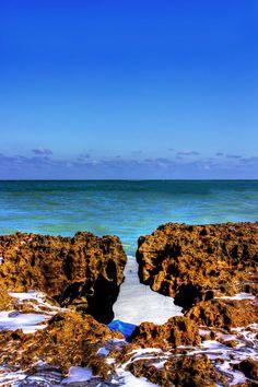 Blowing Rocks Preserve - Jupiter, FL.