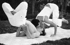 Couples yoga!