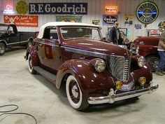 12B_1 1938 DeSoto Cabriolet Rumble Seat Convertible Coupe by bsabarnowl, via Flickr