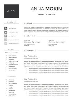 5 page Resume / CV Template + Cover Letter + References for MS Word Cover Letter Template, Cv Template, Resume Templates, Letter Templates, Best Resume, Resume Tips, Resume Cv, Cv Tips, Free Resume Examples