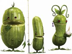 Oh My! Pickles for everyone!