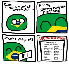 brazil's test tickles