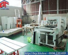 xưởng sản xuất công ty Quyết Tâm