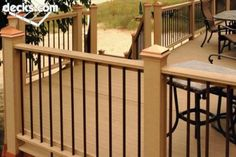 Hot new trends in deck railing ideas for your home